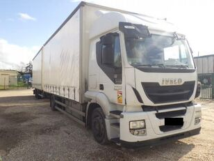 грузовик штора IVECO Stralis AT 190 S 36 + прицеп штора