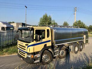 молоковоз SCANIA P 400 KM 8x2 Beczka Do Mleka Sprowadzona Ze Szwajcarii