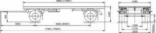 новый бортовой прицеп МАЗ 892600-1025-000Р1