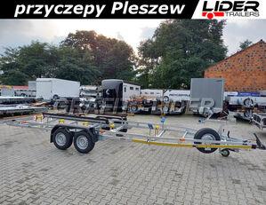 новый лодочный прицеп LIDER LT-117 przyczepa 750x190cm, do przewozu łodzi, wzmacniana, DMC 2