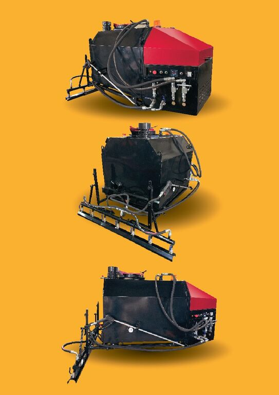 новый автогудронатор TICAB ECO BSE500 ELECTRO