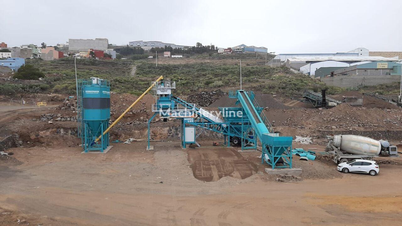 новый бетонный завод CONSTMACH 100 m3/h MOBILE CONCRETE PLANT, DELIVERY FROM STOCK