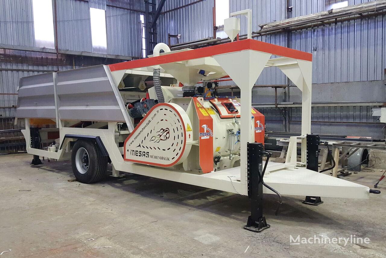 новый бетонный завод MESAŞ Компактный бетонный завод MINICOM-35