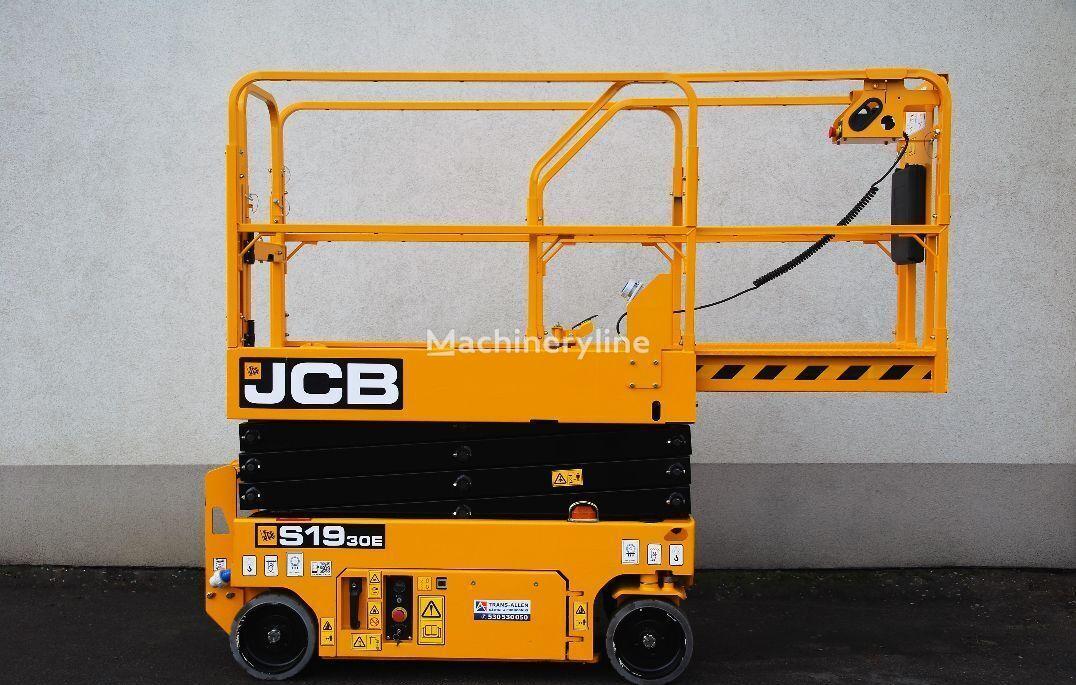 новый ножничный подъемник JCB S1930E- Nowy podest nożycowy z UDT